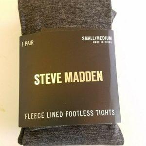 Steve Madden Women's Footless Fleece-lined Tights